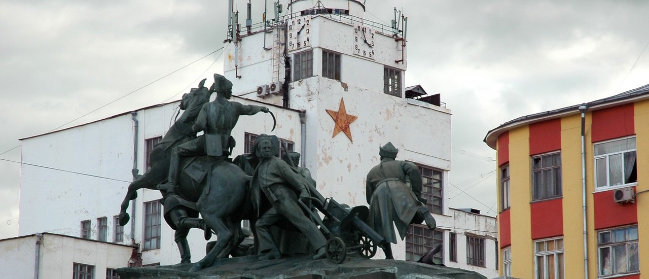 Samara, le quartier du bunker de Staline